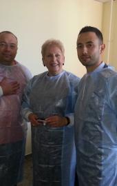 Март 2014, Астрахань - Мастер класс по минимально инвазивной хирургии позвоночника с Профессором из Великобритании Даном Плевом