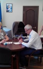 _ Подписание договора с министерством здравоохранения Астрахани